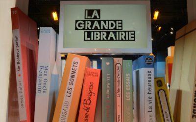 """Antoine Rault dans """"La grande librairie"""" le 10.11.2016"""