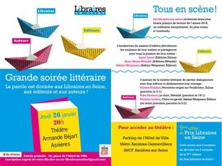 """""""La danse des vivants"""" est sélectionée parmis les six finalistes du Prix Libraires en Seine"""