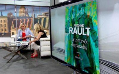 """La chaine télé du Québec, TVA, parle de """"La traversée du paradis"""". Merci à Nathalie Roy et à ses """"bouquineries"""""""