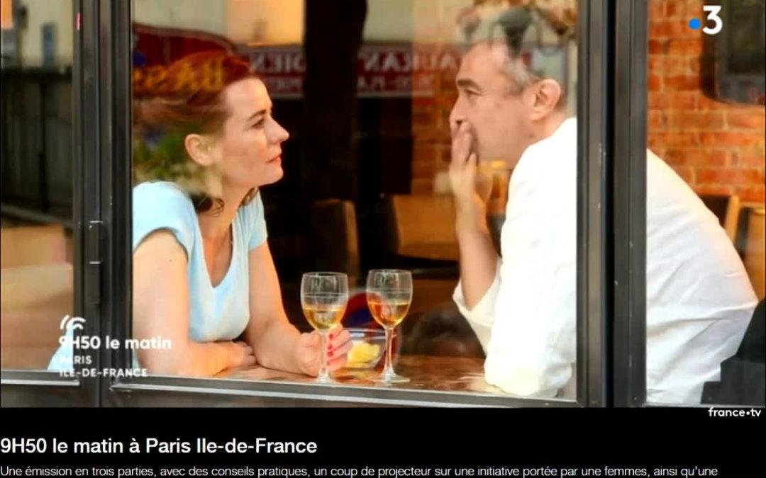 """""""La vie rêvée d'Helen Cox"""" – interview sur France 3"""