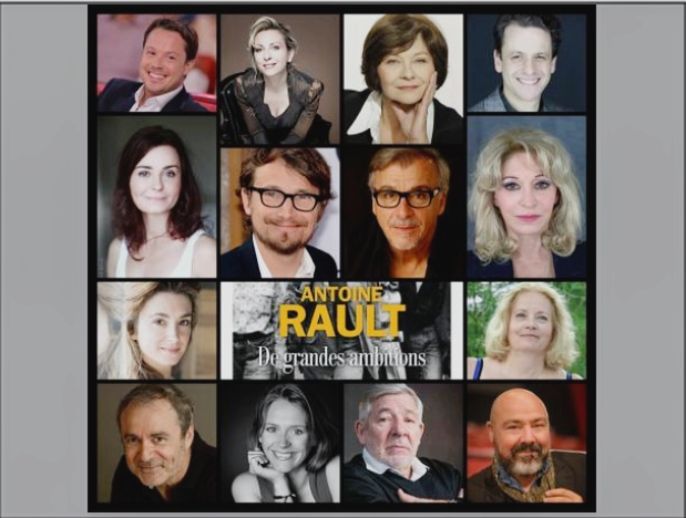 """""""De grandes ambitions"""" par de grands comédiens. Merci, chers amis!"""
